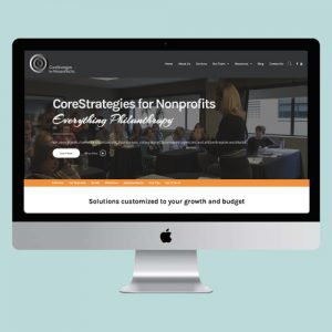 CoreStrategies for Nonprofits Website Design